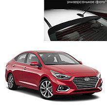 Козырек на заднее стекло для Hyundai Solaris/Accent седан (2017-)