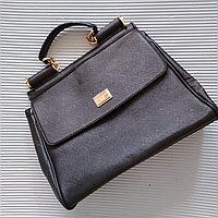 Сумка женская Dolce & Gabbana, черная., фото 1
