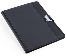 Папка BRETUX, черный, полиэстер, искусственная кожа, Черный, -, 344869 35