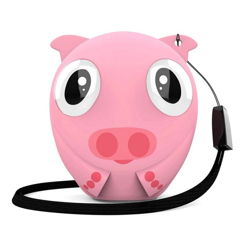 Беспроводная колонка HIPER ZOO Lily, Pig, розовый, , 36745 - фото 1