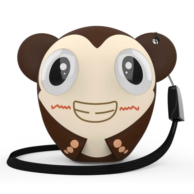 Беспроводная колонка Hiper ZOO Katy, Monkey, коричневый, , 36747 - фото 1