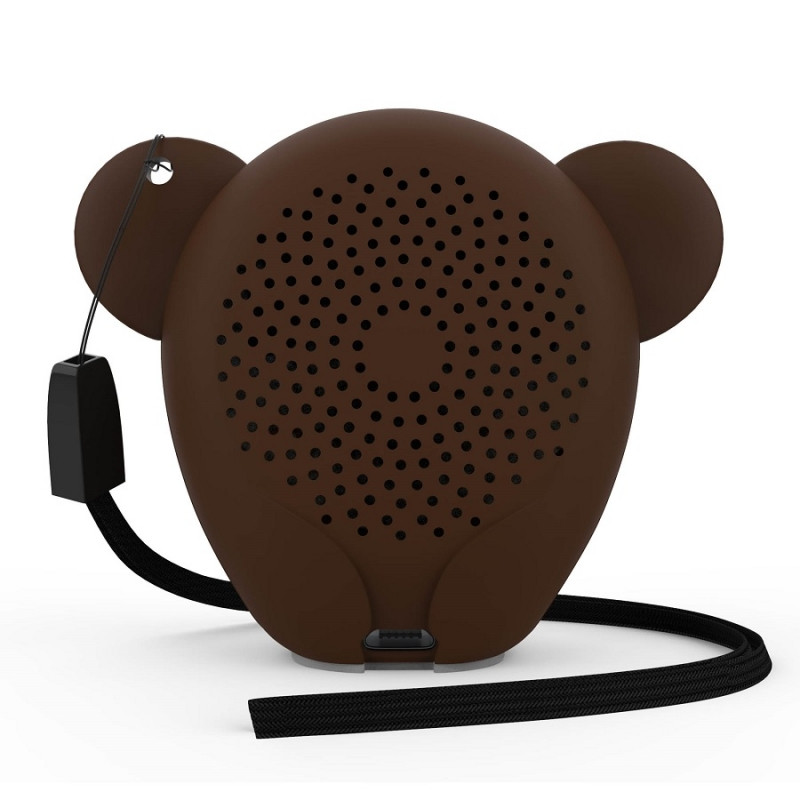 Беспроводная колонка Hiper ZOO Katy, Monkey, коричневый, , 36747 - фото 2