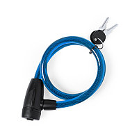 Велозамок с ключом TRIYO, Синий, -, 346491 24