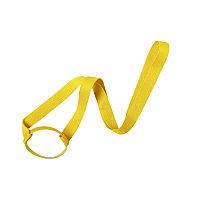 Ланъярд FRINLY для стакана, желтый, полиэстер \ силикон, 2х45 см, Желтый, -, 346595 03