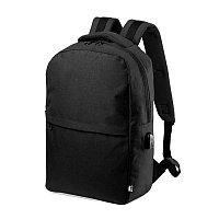 Рюкзак KONOR из rPET/рециклированного полиэстера, Черный, -, 346451 35