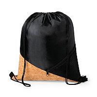 Рюкзак FLICKEN с деталью из пробки, Черный, -, 346319 35