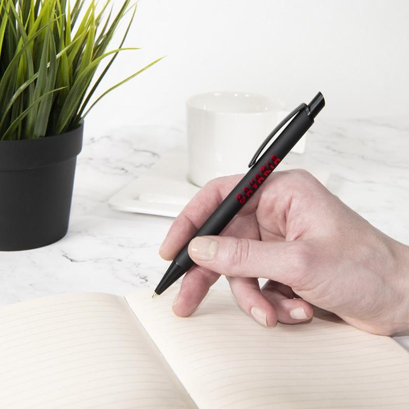 Ручка шариковая ENIGMA, металл, софт-покрытие, Черный, -, 40501 35 47 - фото 5
