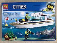 Конструктор Lari 11221 Cities Яхта для дайвинга