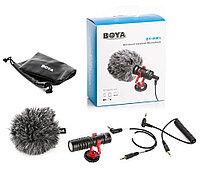 Boya / Двухканальный монофонический петличный микрофон Boya BY-MM1