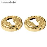 Накладка Armadillo CYLINDER ET/CL-GOLD-24 24К, цвет золото, 2 шт.