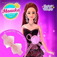 Кукла-модель шарнирная «Моника» в наборе повязка для девочки