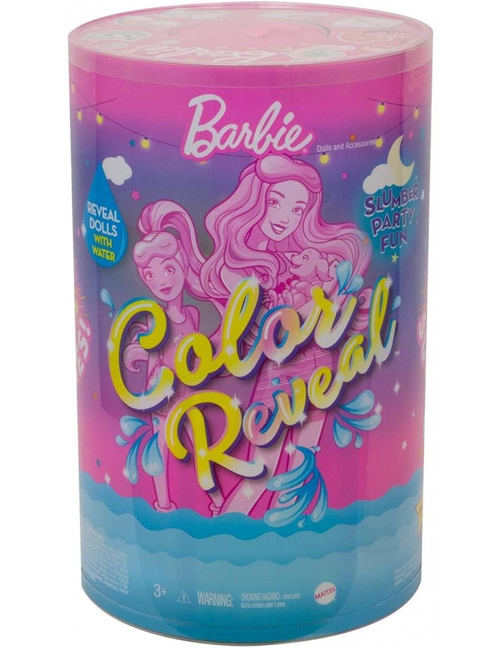 Barbie Colour Reveal Пижамная вечеринка