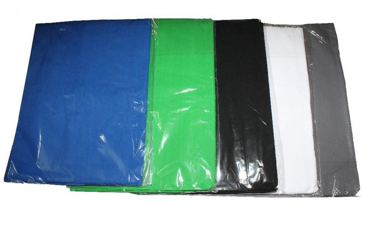 Студийный тканевый черный фон 4 м × 2,3 м - фото 7