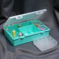 Органайзер для хранения швейных принадлежностей, 7,5 x 19 x 28,5 см, цвет МИКС