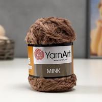Пряжа 'Mink' 100 полиамид 75м/50гр (332 какао)