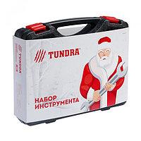"""Набор инструментов в кейсе TUNDRA """"С Новым Годом"""", подарочная упаковка, 46 предметов"""