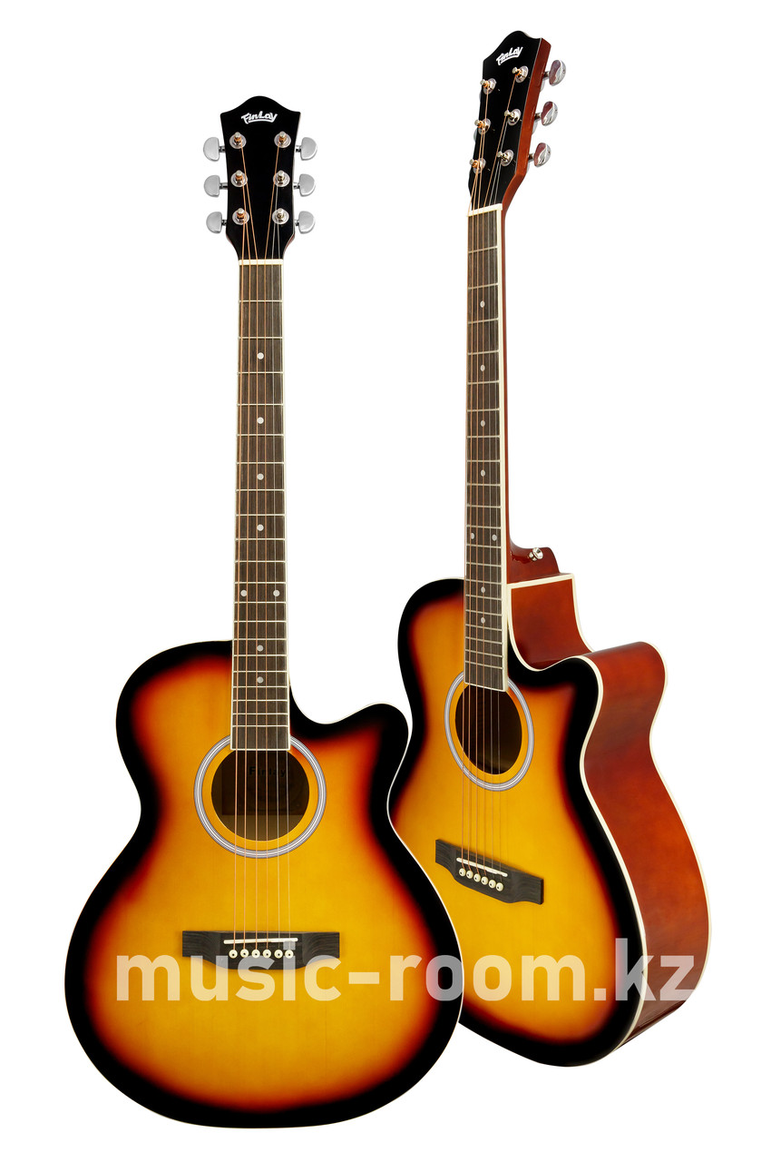Гитара акустическая с вырезом Finlay FX-A210C SB