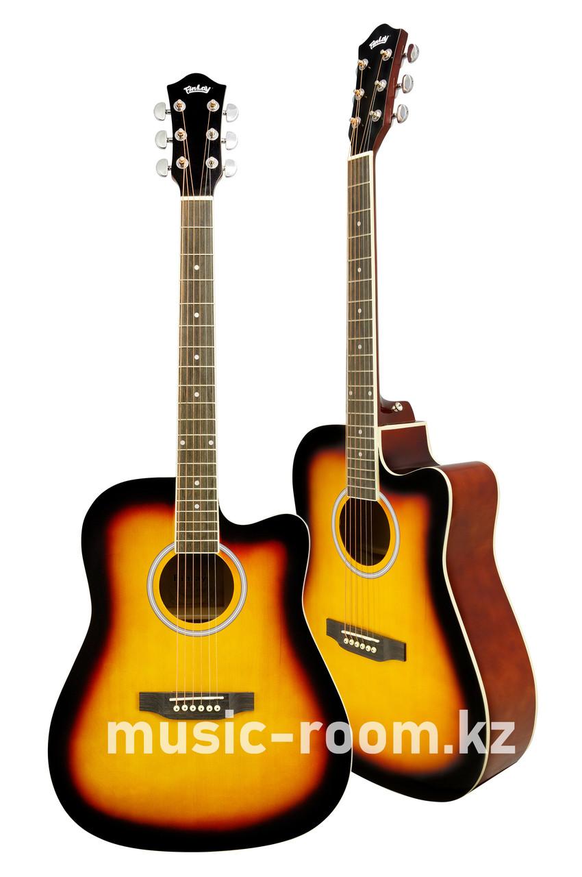 Гитара акустическая с вырезом Finlay FX-D210C SB