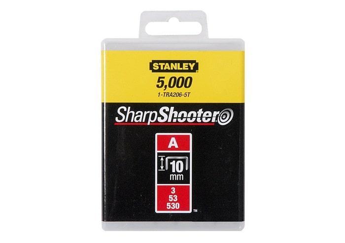 "Скоба Stanley 10 мм тип A для степлеров 5000 шт.  1-TRA206-5T (STANLEY, 1-TRA206-5T, СКОБА ДЛЯ СТЕПЛЕРА ""LIGHT"