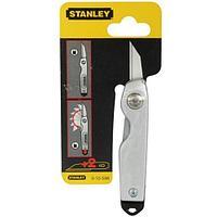Нож Stanley ланцет складной 110 мм 0-10-598 (STANLEY,  0-10-598, НОЖ СКЛАДНОЙ КАРМАННЫЙ 110ММ)