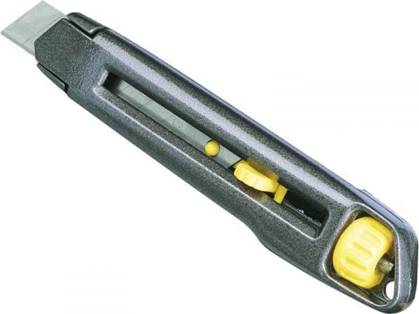 Нож Stanley Interlock с выдвижным сегментным лезвием  18 мм 165 мм 4-10-018 (STANLEY, 4-10-018, НОЖ