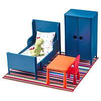 Кукольная мебель ХУСЕТ спальня ИКЕА, IKEA