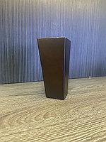 Ножка мебельная, деревянная, пирамида 12 см