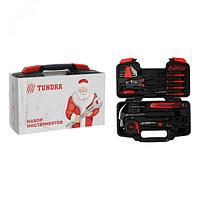 """Набор инструментов в кейсе TUNDRA """"С Новым Годом"""", подарочная упаковка, 39 предметов"""