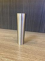Наконечник для мебельных опор, под серебро,гальваническое покрытие