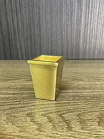 Наконечник для мебельных опор, латунь 3,5 см