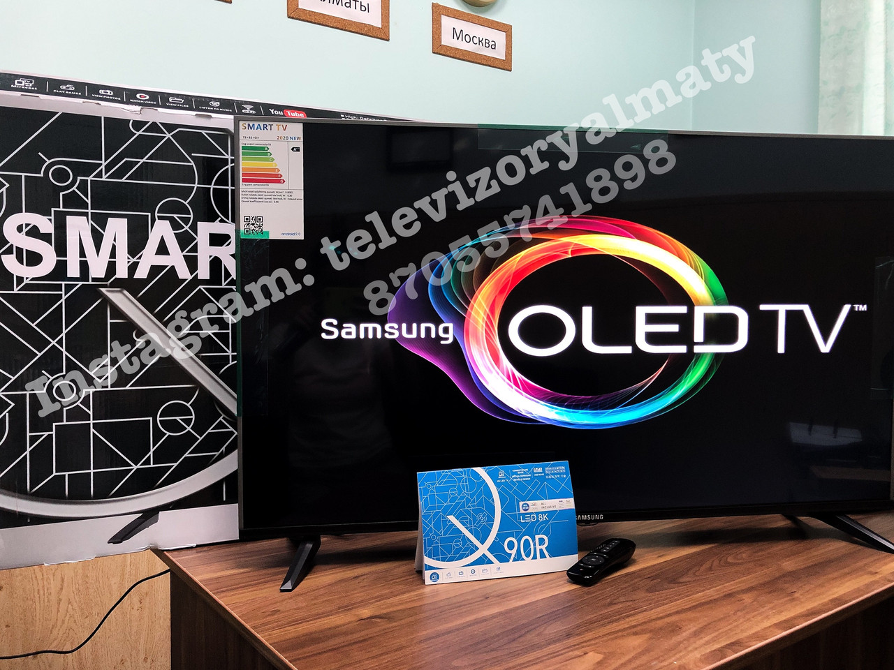 Телевизор LED TV Samsung Smart tv 43 диагональ - фото 1