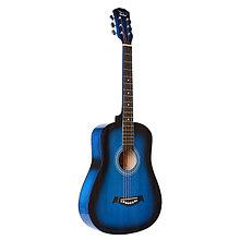 Акустическая гитара, синий санберст, Fante FT-R38B-BLS