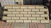 """Фасадные панели 420x1000 мм VOX Vilo Brick """"Ivory"""" (Кирпич) """"Слоновая Кость"""", фото 1"""