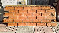 Фасадные панели 420x1000 мм VOX Vilo Brick Marron (Кирпич) Маррон с швами, фото 1