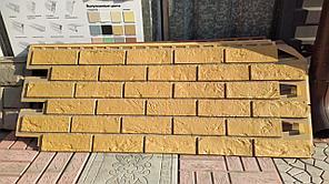 Фасадные панели 420x1000 мм VOX Vilo Brick Ginger (Кирпич) Имбирь с швами