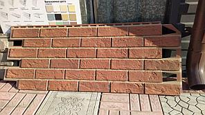 Фасадные панели VOX 420x1000 мм (0,42 м2) Solid Brick Bristol (Кирпич) Бристоль