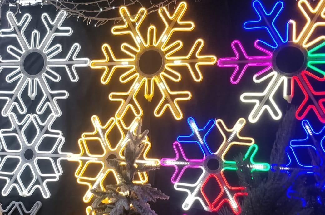 Снежинка LED, 60 см
