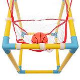 Баскетбольный набор «Юный спортсмен», с мячом, фото 2