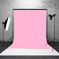 Розовый фон 2х2.3 м Студийный, тканевый