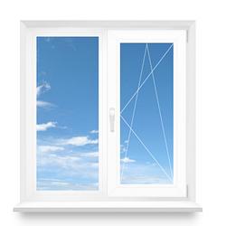 Металлопластиковое окно 1000*1000 мм