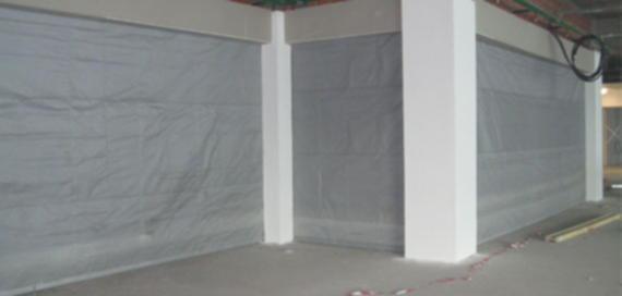 Противопожарные шторы DoorHan 2*2.5 м