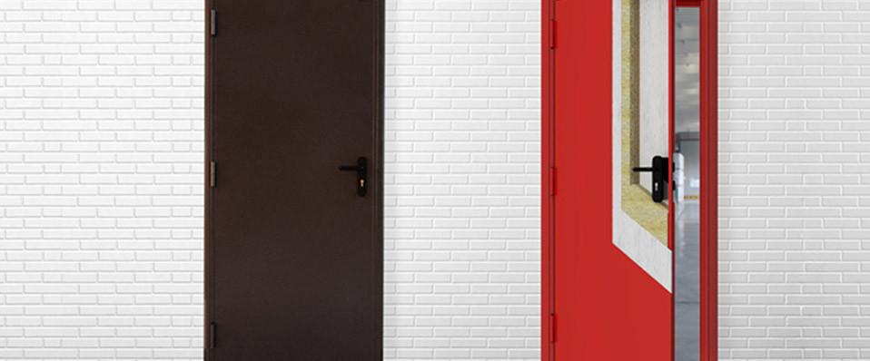Противопожарные двери DoorHan 880*2050 мм