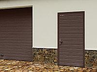 Гаражная дверь DoorHan Ультра 880*2050 мм цвет уточняйте.