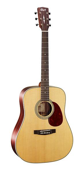 Акустическая гитара, цвет натуральный матовый, Cort EARTH80-NS Earth Series
