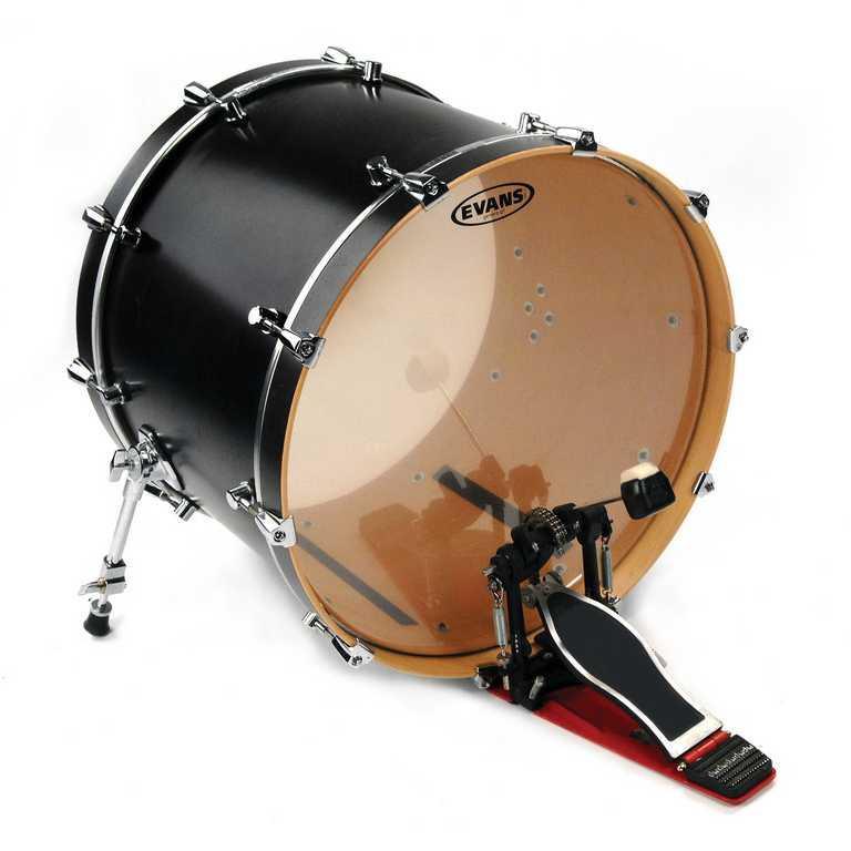 """Пластик для бас-барабана 22"""", Evans BD22G2 G2 Clear"""
