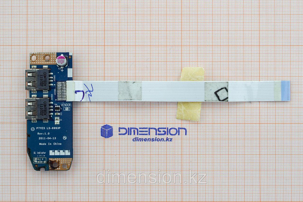USB плата порт разъем P7YE5 LS-6993P rev 1.0 для Acer Aspire 7560 7560G 7750G