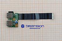 USB порт плата разъем 01016YY00-J09-G для COMPAQ Presario CQ58 HP 650