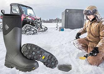 Сапоги для зимней рыбалки и охоты