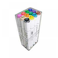 Художественные маркеры TOUCH SOFT HEAD набор 12 цветов (двухсторонние)