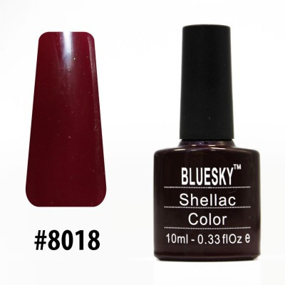 Гель-лак Bluesky Shellac Color 10ml #8018